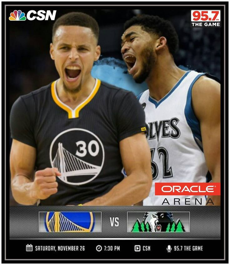 Screaming Saturday Slate Night! ... Karl Anthony Towns and his Timberwolves are howling their way into Oracle tonight to take on Steph and our Dubs! The T-Wolves are gonna try their best to break the Dubs' 10-game winning streak but the NBA leading Warriors are more than ready to defend home court and their 14-2 record! Game on! 2nd Quarter Highlights: Dubs win over Lakers 109-85 at the Staples Center yesterday Friday Nov 25th. They own a league-leading 10-game winning streak and 14-2…