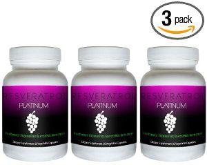 Resveratrol Platinum - 3 Bottles for $27.95