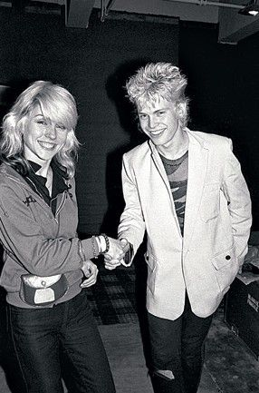 Debbie and Billy Idol
