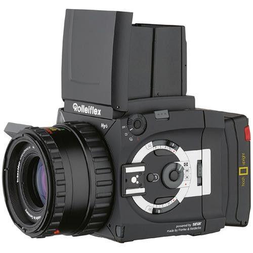 Rollei Hy6 Medium Format SLR Autofocus Camera Body 66031 B&H