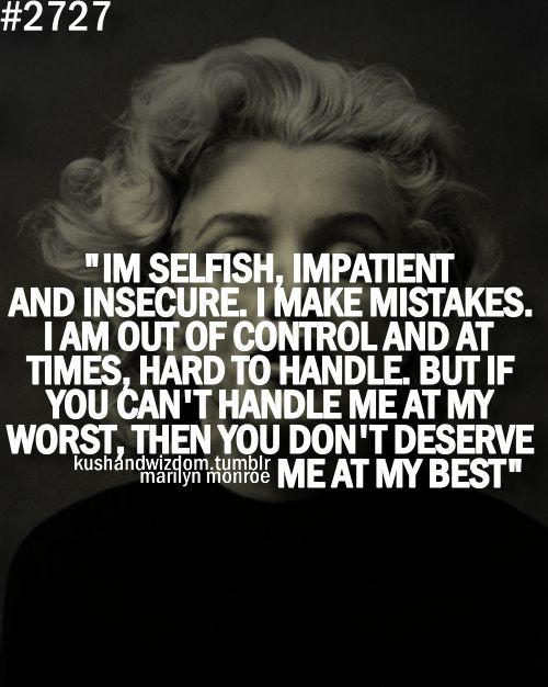 Marilyn Monroe :)