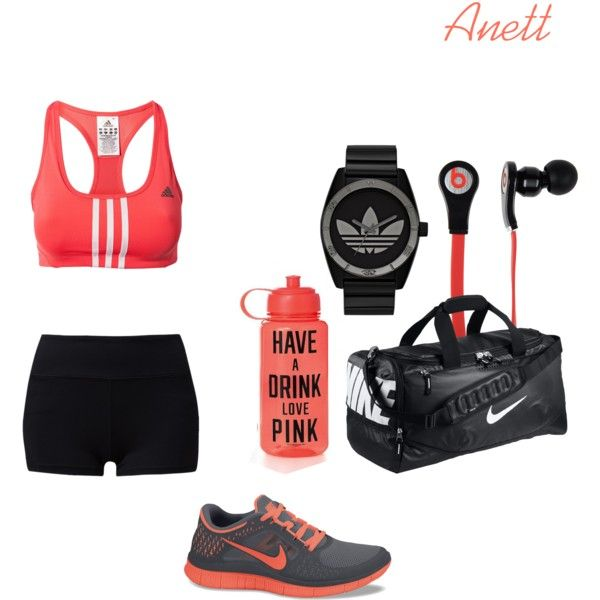 """Untitled #34"" by anett-keberlova on Polyvore #polyvore #outfit #sport #workout #running #nelly #sportbra #adidas #training #forever21 #nike #freerun #vs #victoriassecret #nike #watch #nordstrom #drdre #beatsbydrdre"