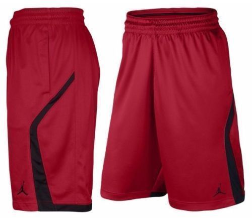 7fe243e319ab Nike Air Jordan Mens Flight Knit Dri-Fit Basketball Shorts Red 846753 687  sz 3XL  Nike  Athletic