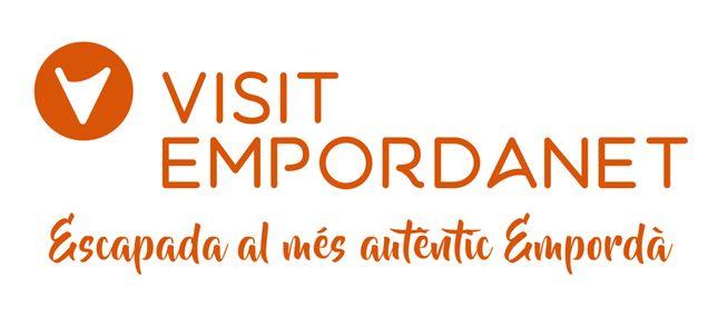 Disseny de logotip per Visit Empordanet, un projecte per a la dinamització dels municipis de la Bisbal d'Empordà, Forallac, Cruïlles, Monells, Sant Sadurní de l'Heura, Corçà i Ullastret.