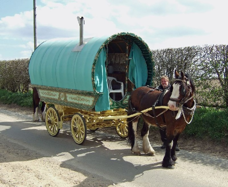 Looking Down the Road: A Gypsy Caravan Holiday