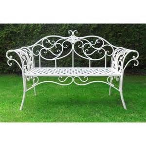 romantic white metal garden furniture yahoo image search results