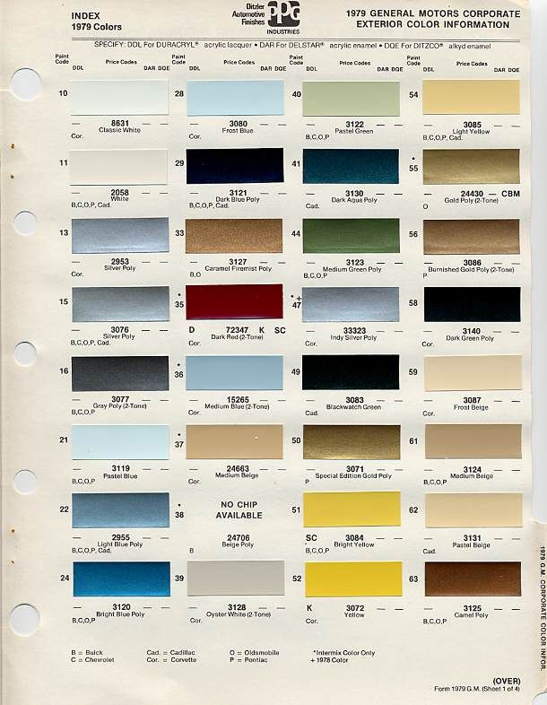 gm color chips color chip selection auto paint colors codes pinterest colors chips. Black Bedroom Furniture Sets. Home Design Ideas
