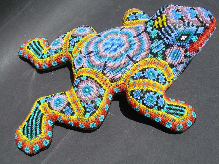Huichol Clay Frog