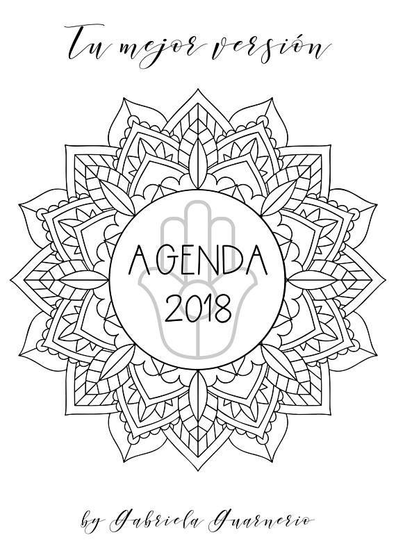 Mira este artículo en mi tienda de Etsy: https://www.etsy.com/es/listing/581968144/agenda-2018-con-mandalas-para-colorear-y