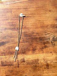 Mini Tassel Necklace - $30 - Horn & Bone Collection - All natural materials. Handmade in Haiti. Support job creation in Haiti! Shop @ elishac.com