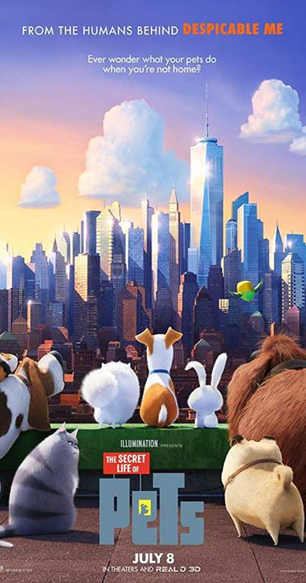 Directed By Chris Renaud Yarrow Cheney With Louis C K Eric Stonestreet Kevin Hart Lake Bell The Quiet Life Of Secret Life Of Pets Secret Life Pets Movie