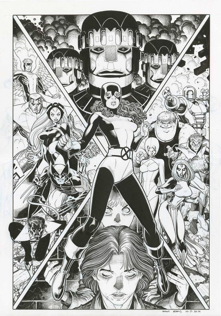 Years of Future Past by Arthur Adams *