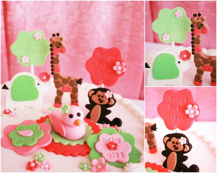 {Real Party} Pink Jungle Baby Shower