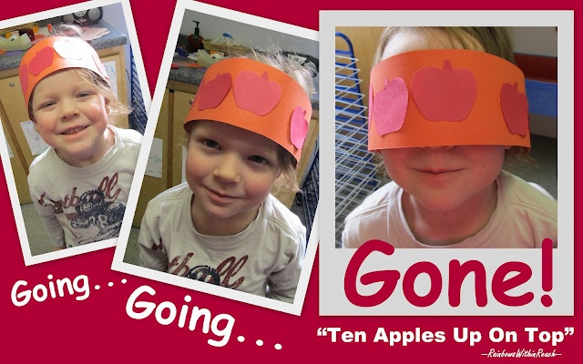 "Headband for Dr. Seuss Celebration: ""Ten Apples Up on Top"""