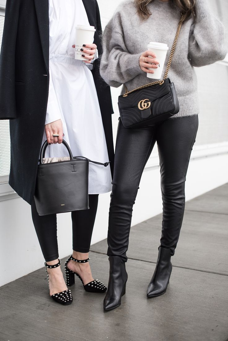 black white gray fashion