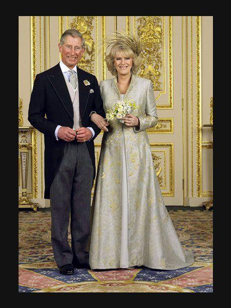9. April 2005: Prinz Charles und Camilla Parker Bo...