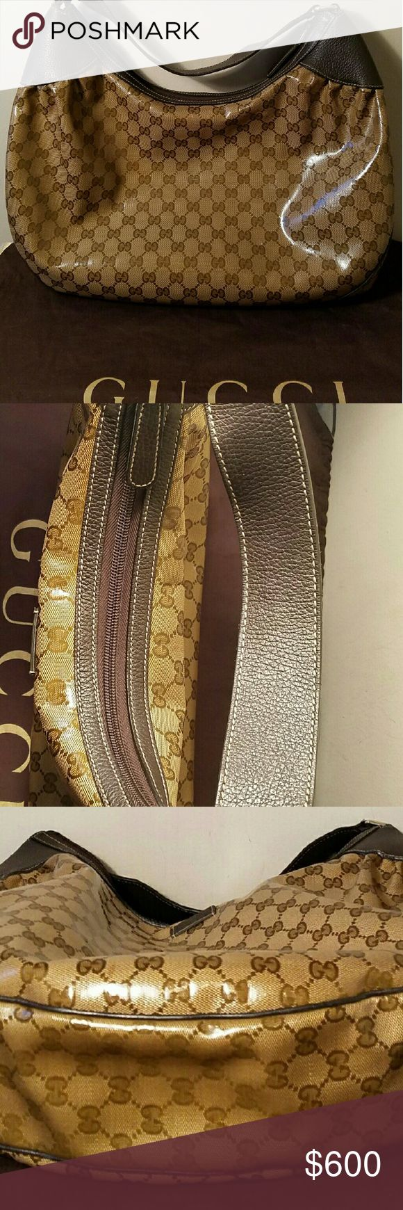 Authentic Gucci Hobo bag In excellent condition. Looks brand new. Better price elsewhere. Gucci Bags Shoulder Bags
