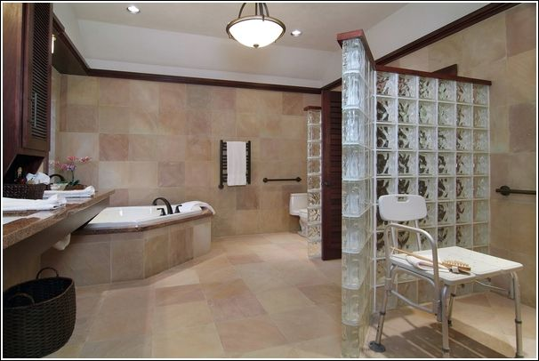 handicap accessible bathroom designs Bathroom Pinterest