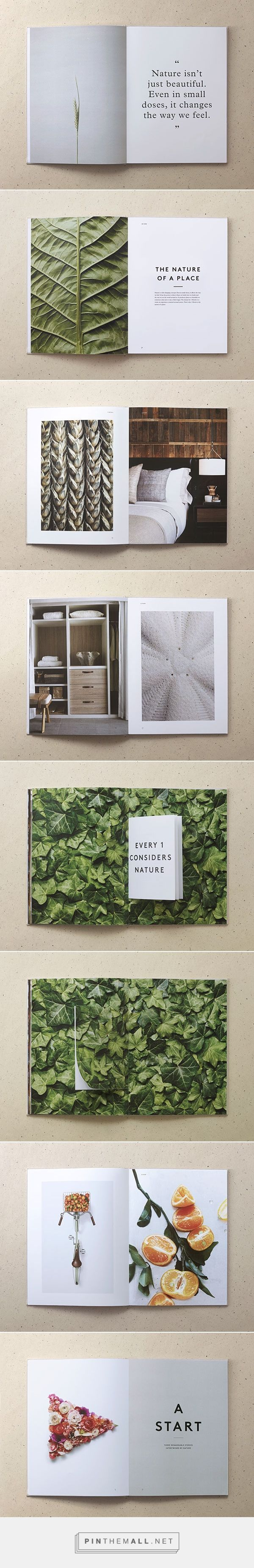 1 Hotels / by Jules Tardy & Christian Cervantes | Brochure, Catalog, Portfolio Design | Portfolio inspiration