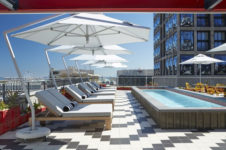 Radisson Blu Cape Town Rooftop. Interior deign by Source Interior Brand Architecture.