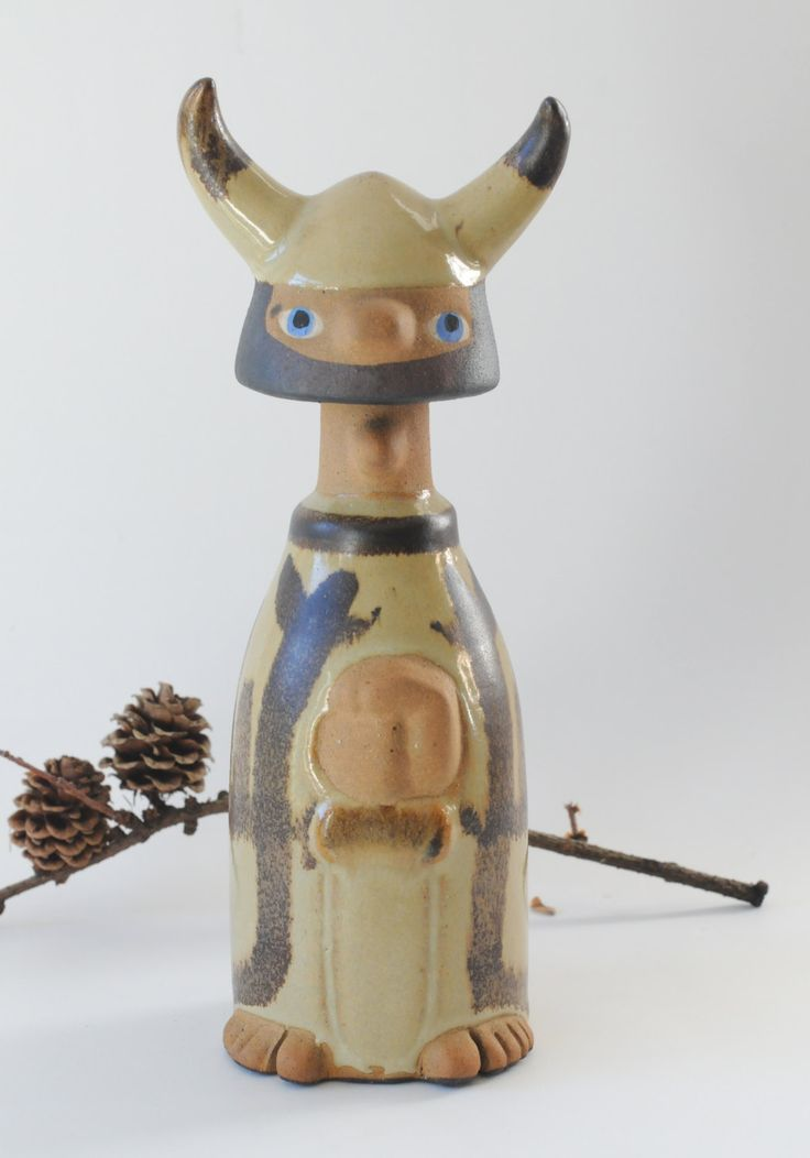 Viking Vintage Art Pottery Scandinavian modern. Stogo Viking for Ilums Bolighus Denmark by FridasVintage on Etsy