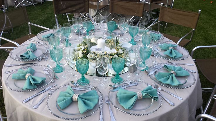Garden wedding reception decor & catering by #ARIAFineCatering
