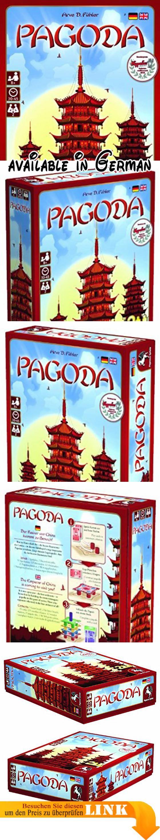 Pegasus Spiele 51891G - Pagoda. 2 Spieler. ab 8 Jahren. 30-45 Min. Spieldauer. von Arve D. Fühler #Toy #TOYS_AND_GAMES
