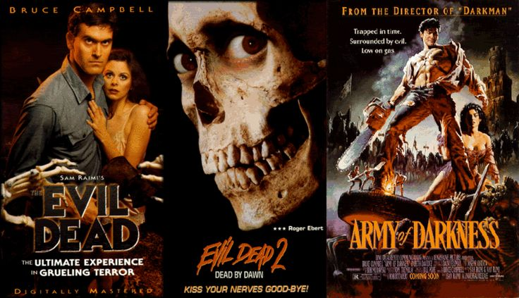 Evil Dead, Evil Dead 2, Army of Darkness - Sam Raimis Dark Comedy/Horror Trilogy Masterpiece