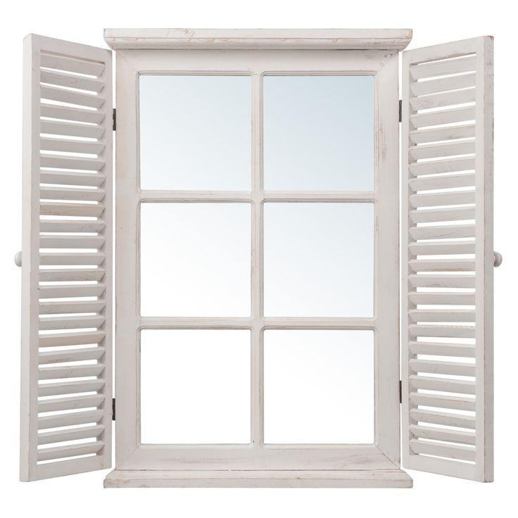 Miroir fen tre maisons du monde 59 90 pour la for Miroir pour chambre