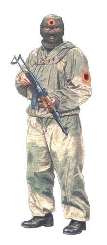 Soldados Guerra de Yugoslavia o Guerra de los Balcanes.