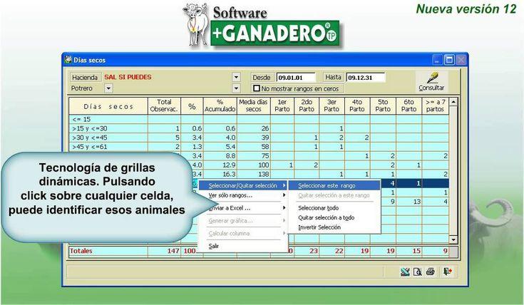 Software +Ganadero TP 2013