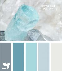 Crystal color .