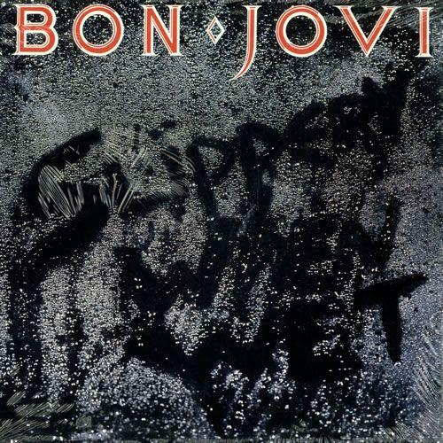 Bon Jovi Slippery When Wet Sealed Canadian Vinyl Lp