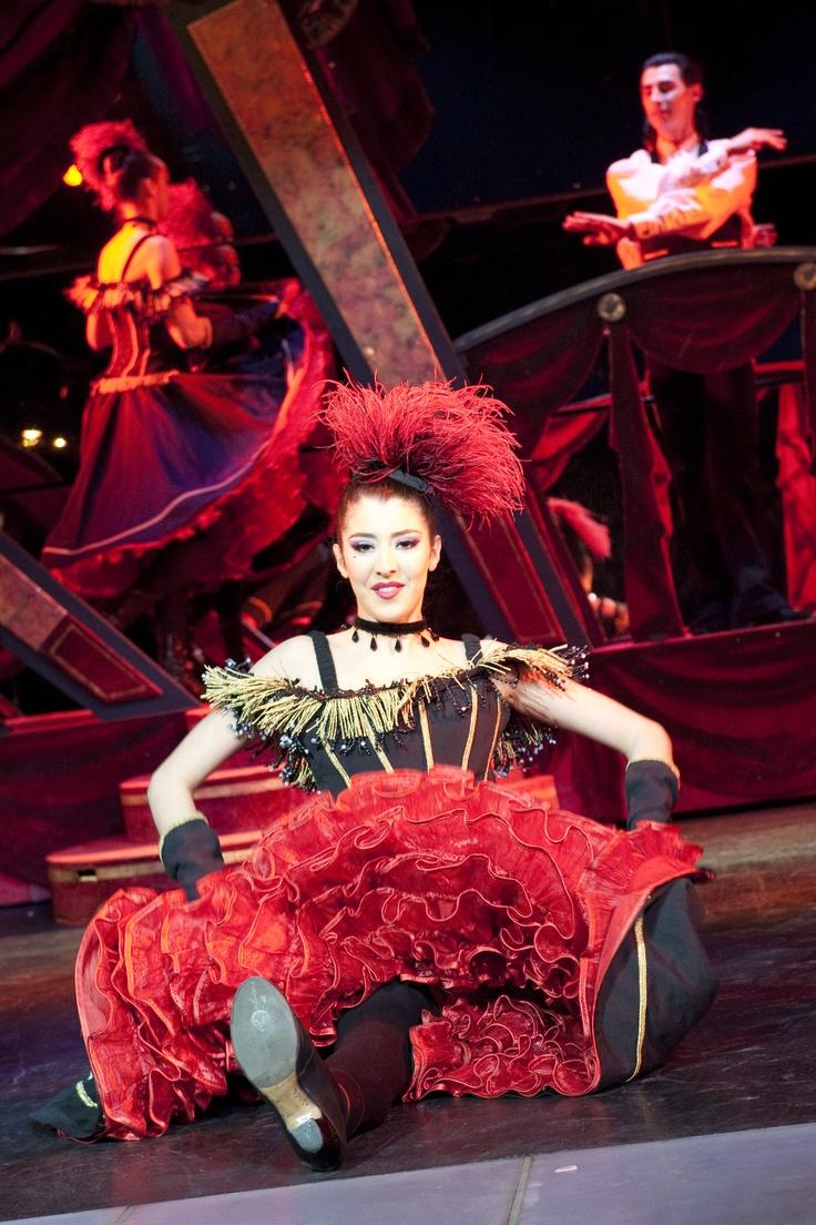 Le moulin rouge paris danse webcam