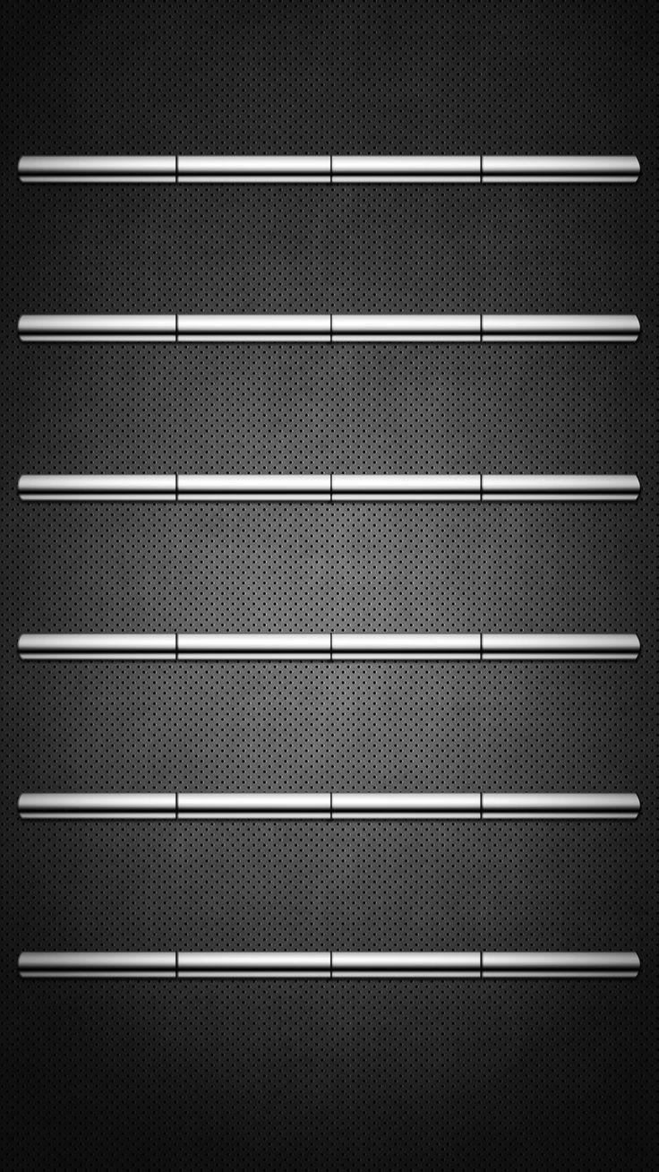 ↑↑TAP AND GET THE FREE APP! Shelves Stylish Black Metallic Net Texture Simple Minimalistic HD iPhone 6 plus Wallpaper