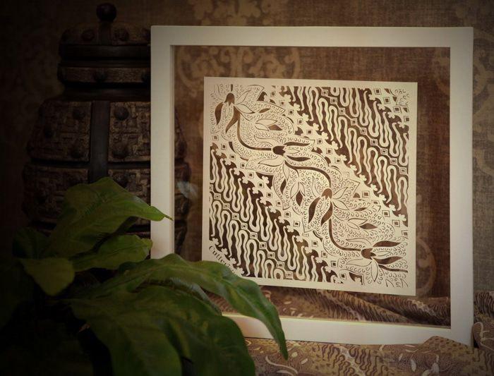 cutteristic batik parang