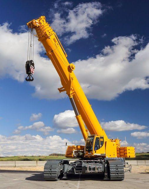 Liebherr #Construction - LTR 1220 telescopic crawler crane