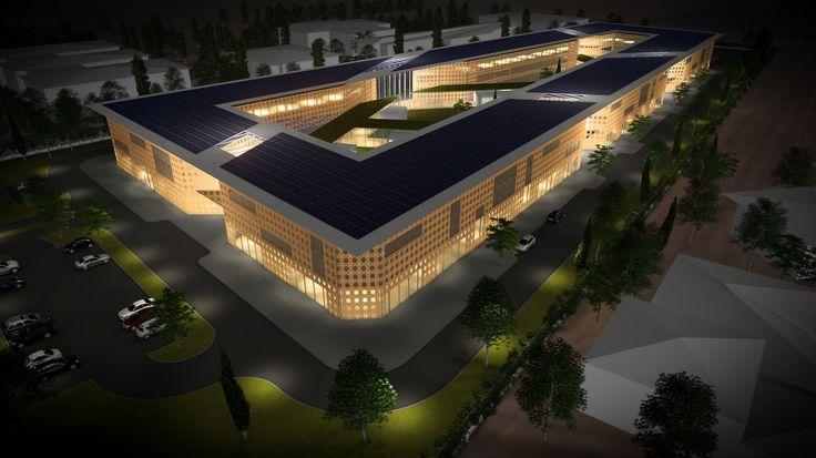 Voor de provincie Adıyaman in Turkije heeft Kokon een ontwerp gemaakt voor een activiteitencentrum voor 'Gehandicapten en Oorlogsveteranen'. Verschijningsvorm, duurzaamheid en integratie van routing vormen de belangrijkste uitgangspunten in het ontwerp van het gebouw.