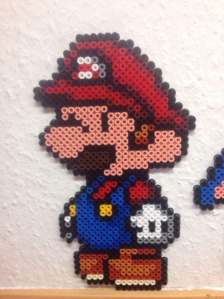 Mario - Mario brother - hama beads - hama perler