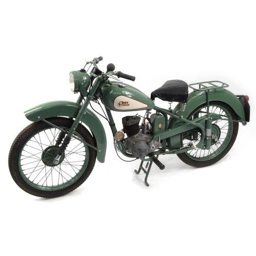 2002 - 1952 Green BSA Bantam D1 125cc motorbike, 15871 recorded miles, registration - AJK 709, one recorded...