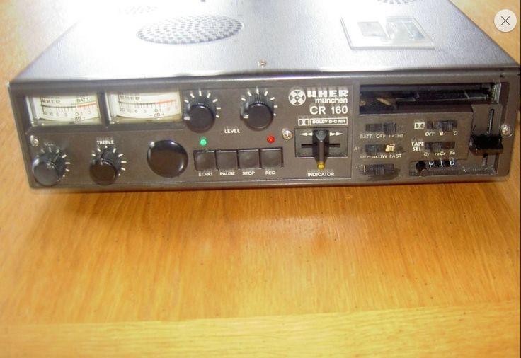 Uher Stereo cassette recorder CR160