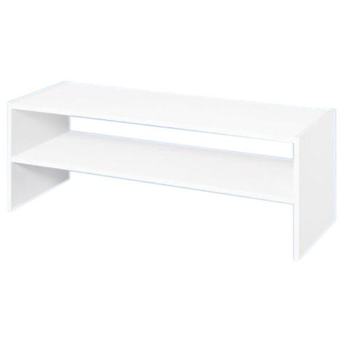 Organisateur à 1 étagère superposable de 31 po, blanc