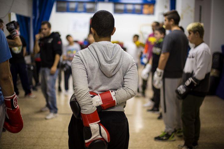 La escuela de boxeo que salva las vidas de los niños de Hortaleza