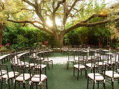 Casamento circular   Tendência de decoração