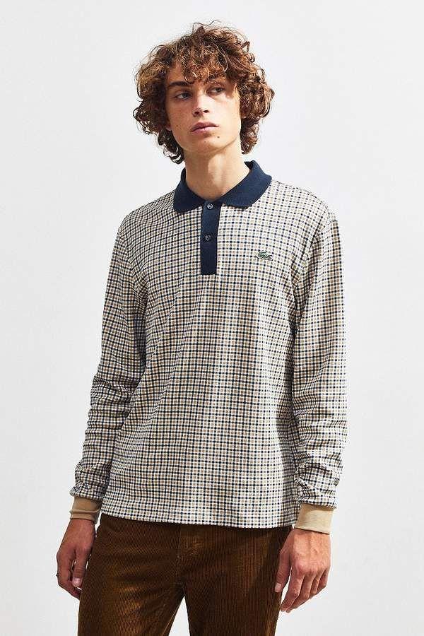 B/&C Collection Mens Basic Long Sleeve Polo Shirt