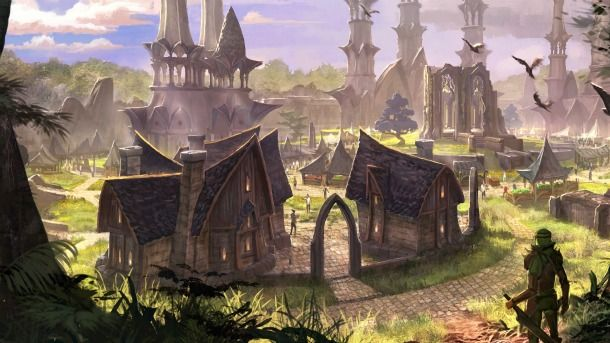 Bethesda's upcoming action-RPG the Elder Scrolls Online features three factions – two of which have been revealed so far as the Aldmeri Dominion and the Daggerfall Covenant. Currently being developed by Zenimax Online Studios, the title should be out in 2013 for the PC and Mac. At the beginning of the game, the players will choose to ally with one of the three factions that not only oppose the Imperials and Daedric prince Molag Bal's undead army, but are also in rivalry for the imperial…