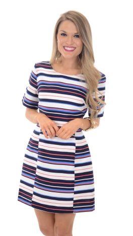 Wave Your Flag Dress :: NEW ARRIVALS :: The Blue Door Boutique