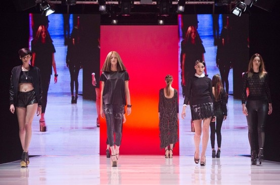 The fashion & hair show at Cosmoprof 2013!