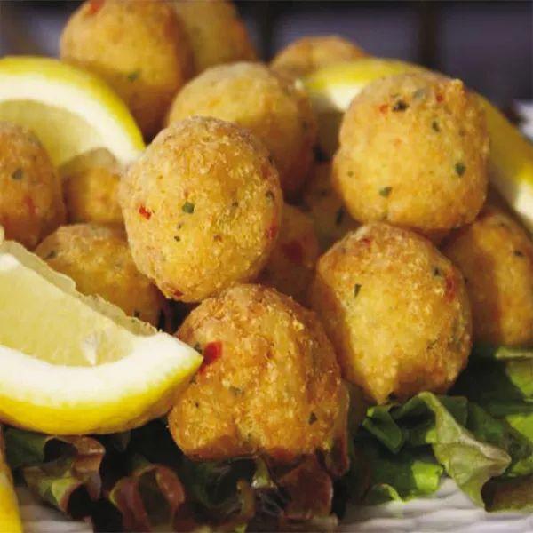 Polpettine di baccalà e patate