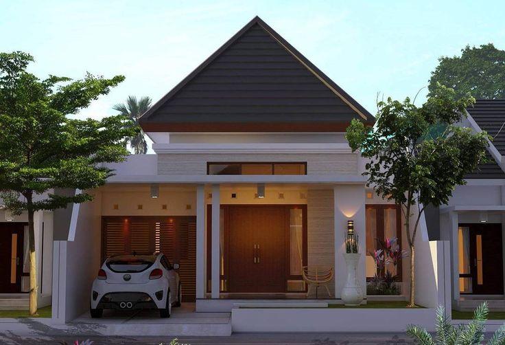 Contoh Rumah Sederhana Tapi Mewah Untuk Tempat Tinggal Di Desa Yang Keren  home and room